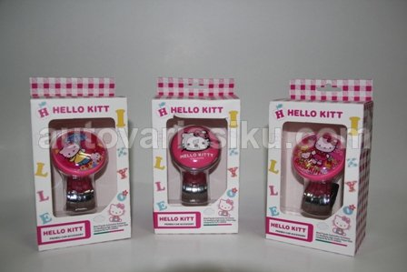 KNOB STIR HELLO KITTY